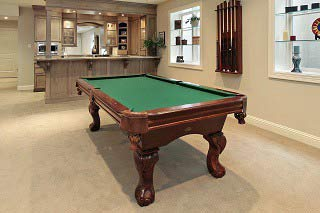 Figure out the cost to move a pool table in Palm Bay