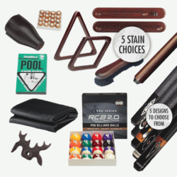 Pool Table Kits and Accessories